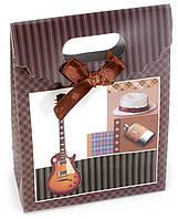 "Пакет подарочный картон ""Гитара"" (12,5х6х16,5 см)"