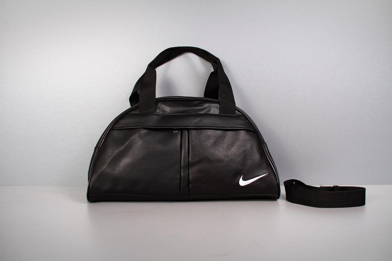 Спортивная сумка Nike ( белый логотип )-реплика