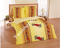 Махровое постельное белье евро Karbeltex