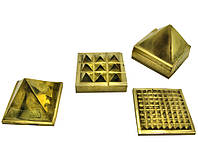 Пирамида энергетическая бронзовая (5х5х5 см)