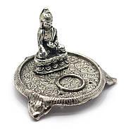 "Подставка под благовония ""Будда"" (6х9х9 см)(Непал)"