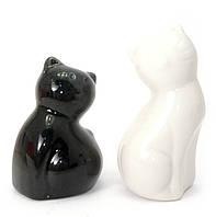 """Солонка с перечницей """"Коты"""" (9х8,5х4,5 см)"""