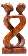 """Статуэтка """"Влюбленные"""" дерево (14,5х7,5х3 см)"""