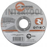 Диск отрезной по металлу 115x1.6x22.2 мм INTERTOOL CT-4003