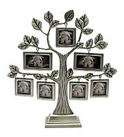 """Фоторамка """"Дерево"""" (7 фото) (26,5х25х5 см)"""