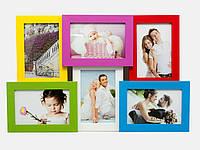 Фоторамки (6 фото)(фото 15х10 см)(48х31 см)