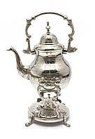 """Чайник бронзовый с горелкой на подставке""""Хром"""" (30,5х19х16 см)"""