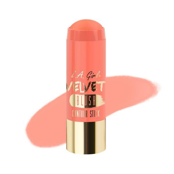 L.A.Girl GCS 584 Velvet Contour Sticks Blush-Snuggle - Бархатный контур в стике, 5.8 г