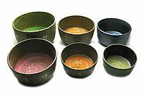 Чаши поющие (н-р 6 шт.)(d-22 см d-21 см d-20 см d-18 см d-16 см d-15 см)