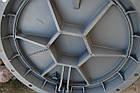 Люк чугунный канализационный тяжелый магистральный KASI тип ТМ (D400) KDU81P (Чехия), фото 5