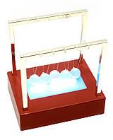 Шары Ньютона с подсветкой (12х12х9 см)