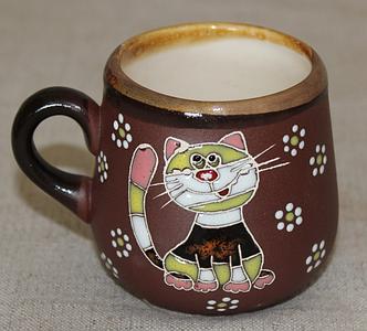 """Чашка кофейная (125мл) """"Кот матрос"""""""