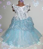 Детское праздничное платье  на девочку (нарядное, новогоднее, принцесса ) 4-7 лет шнуровка и молния, фото 1