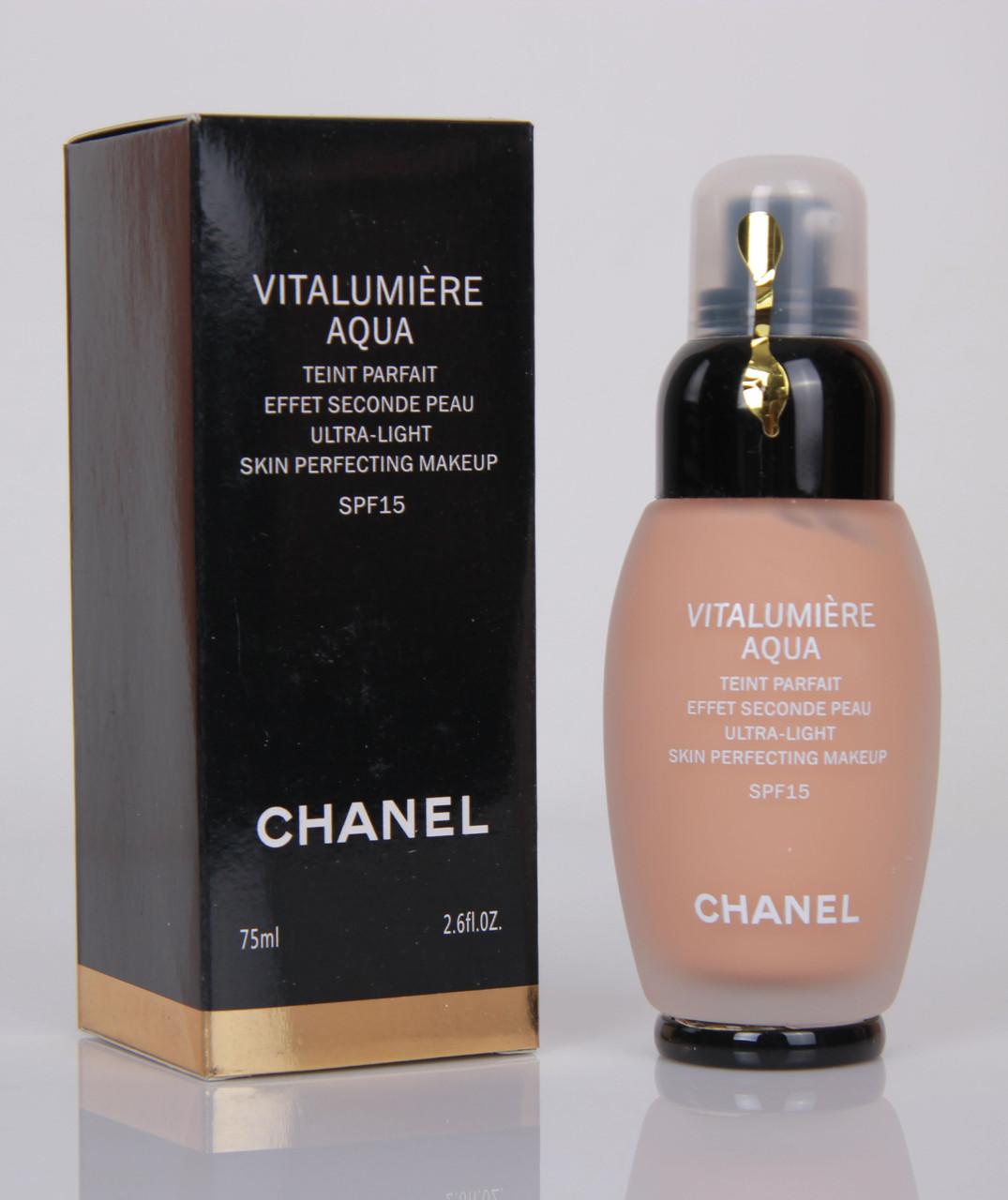 тональный крем chanel vitalumiere aqua фото