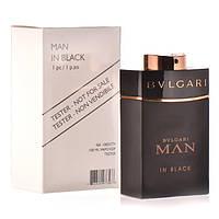 Тестер. Мужская  парфюмированная вода Bvlgari Man In Black (Булгари Мен Ин Блек ) 100 мл