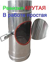 Ревизия из нержавеющей стали AISI 304 без теплоизоляции Версия-Люкс