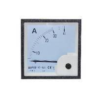 Амперметр АС прямого включения 30А  96х96 ( A-96-6)