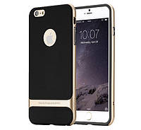 Чехол бампер Rock Royce Series для Apple iPhone 6 Plus Gold