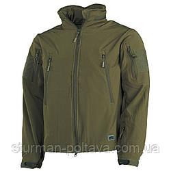 """Куртка мужская тактическая демисезонная SOFTSHELL JACKE """"Scorpion"""" MFH цвет  олива  Германия"""