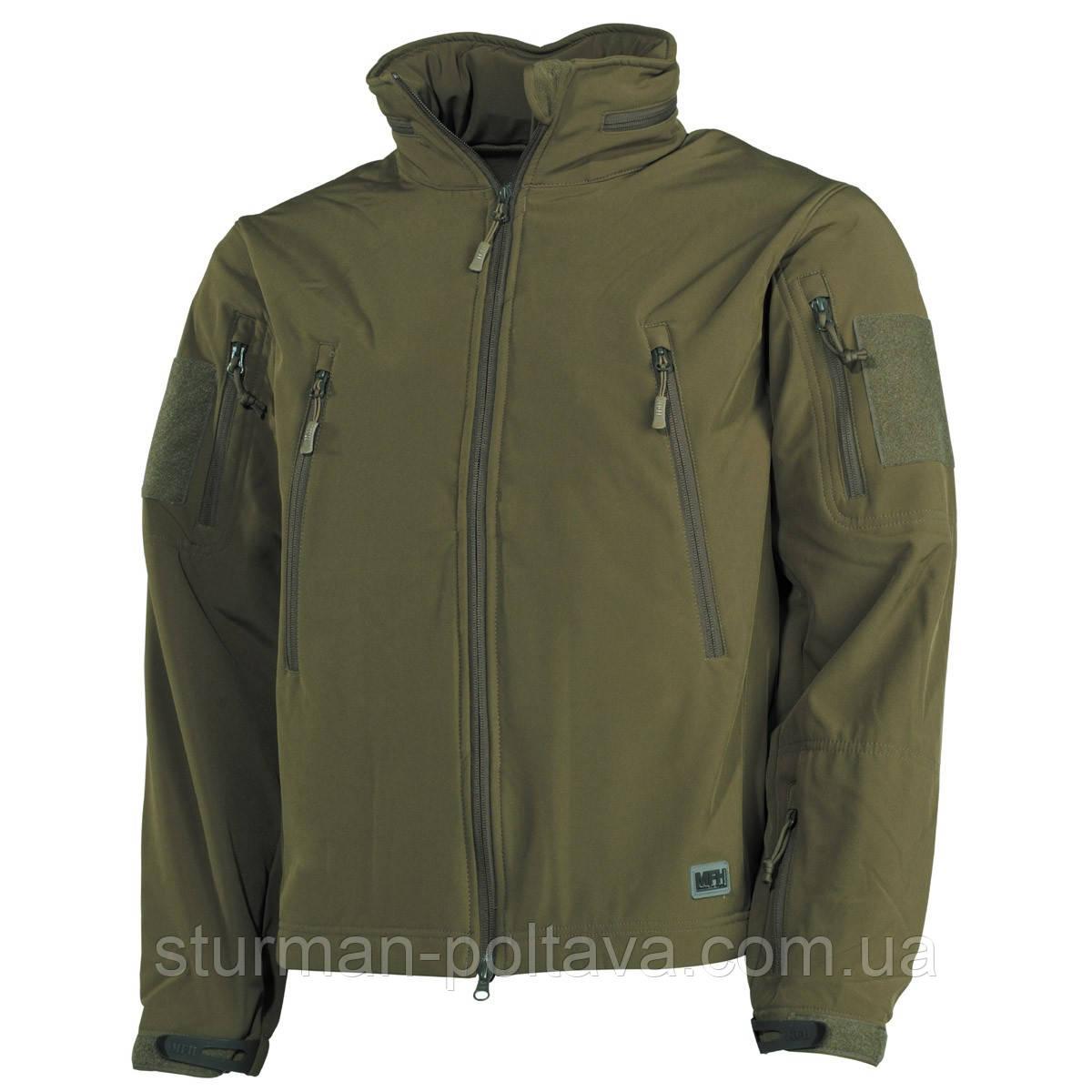 """Куртка тактическая """"Scorpion"""" (SOFT SHELL ) цвет олива  - Магазин  Штурман  в Полтаве"""