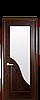 Маэстра Амата каштан со стеклом сатин
