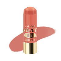 L.A.Girl GCS 590 Velvet Contour Sticks Blush-Glimmer - Бархатный контур в стике, 5.8 г