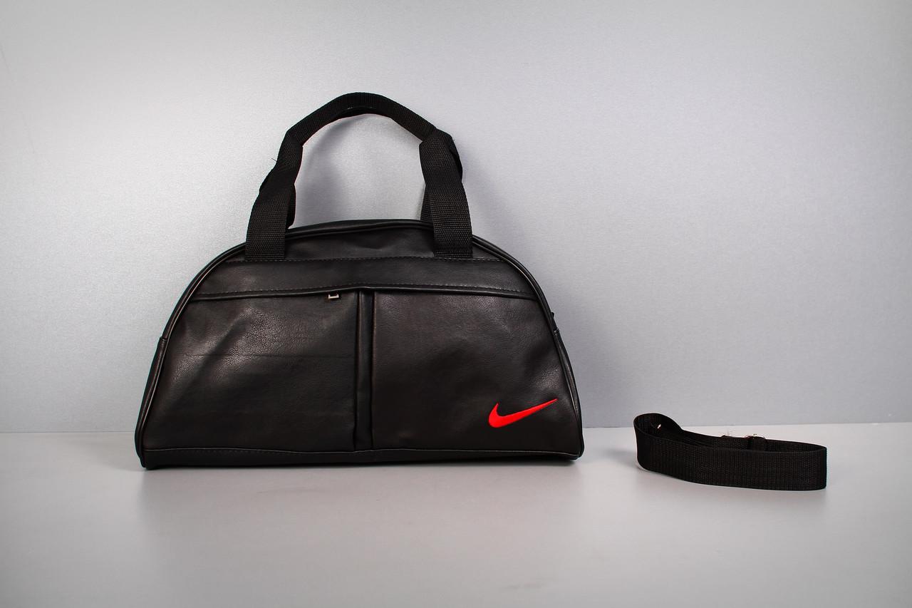 Спортивная сумка Nike ( красный логотип )-реплика