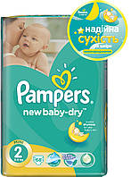 Подгузники Pampers New Baby-Dry 2 Mini 3-6 кг, Эконом - 68 шт.