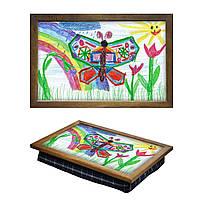 Столик на подушке с рисунком Вашего ребенка