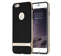 Чехол бампер Rock Royce Series для Apple iPhone 6/6S Gold
