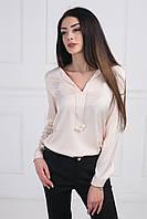 Нежная легкая блуза свободного силуэта