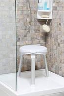 Табурет для ванной с поворотным сиденьем (на 360 градусов), код ― КВ 27