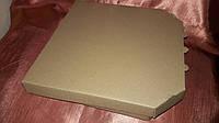 Упаковка под пиццу 320х320х30 мм из 3-х слойнного картона 3мм(профиль В)