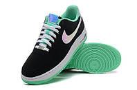 Кроссовки мужские Nike Air Force 1 low (black/white) - 04Z. кросовки найк, кроссовки магазин