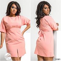 Женское платье большого размера 50