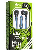 Гарнитура MP3 ADIDAS MS-824* A синяя