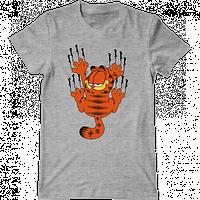 """Мужская футболка с принтом """"Гарфилд"""""""