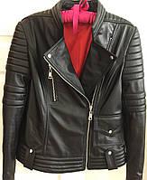 Куртка косуха женская из натуральной кожи