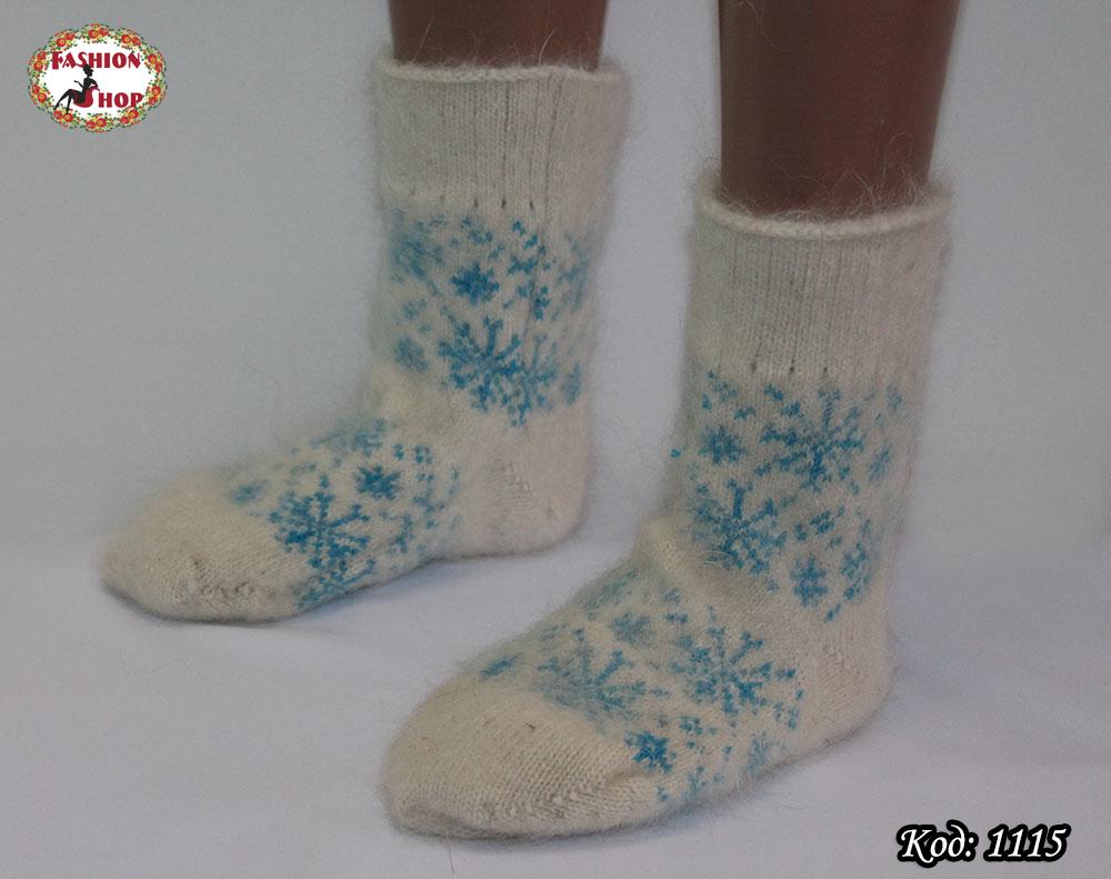 Женские пуховые  носки  Олень