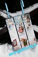 Декор новогодний сани