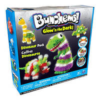 Конструктор Банчемс Bunchems Glow Dino 200+