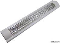 Светильник ЛПО3017/решетка 2х18 Вт. 230В. Т8/G13