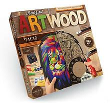 Набір для випилювання лобзиком, настінні годинники ArtWood LBZ-01-01