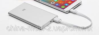 Универсальная батарея Xiaomi Mi power bank 5000mAh Silver, фото 3