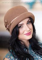 Фетровый женский берет шляпа