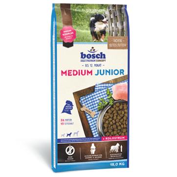 Bosch MEDIUM Junior 3 кг - корм для щенков средних пород
