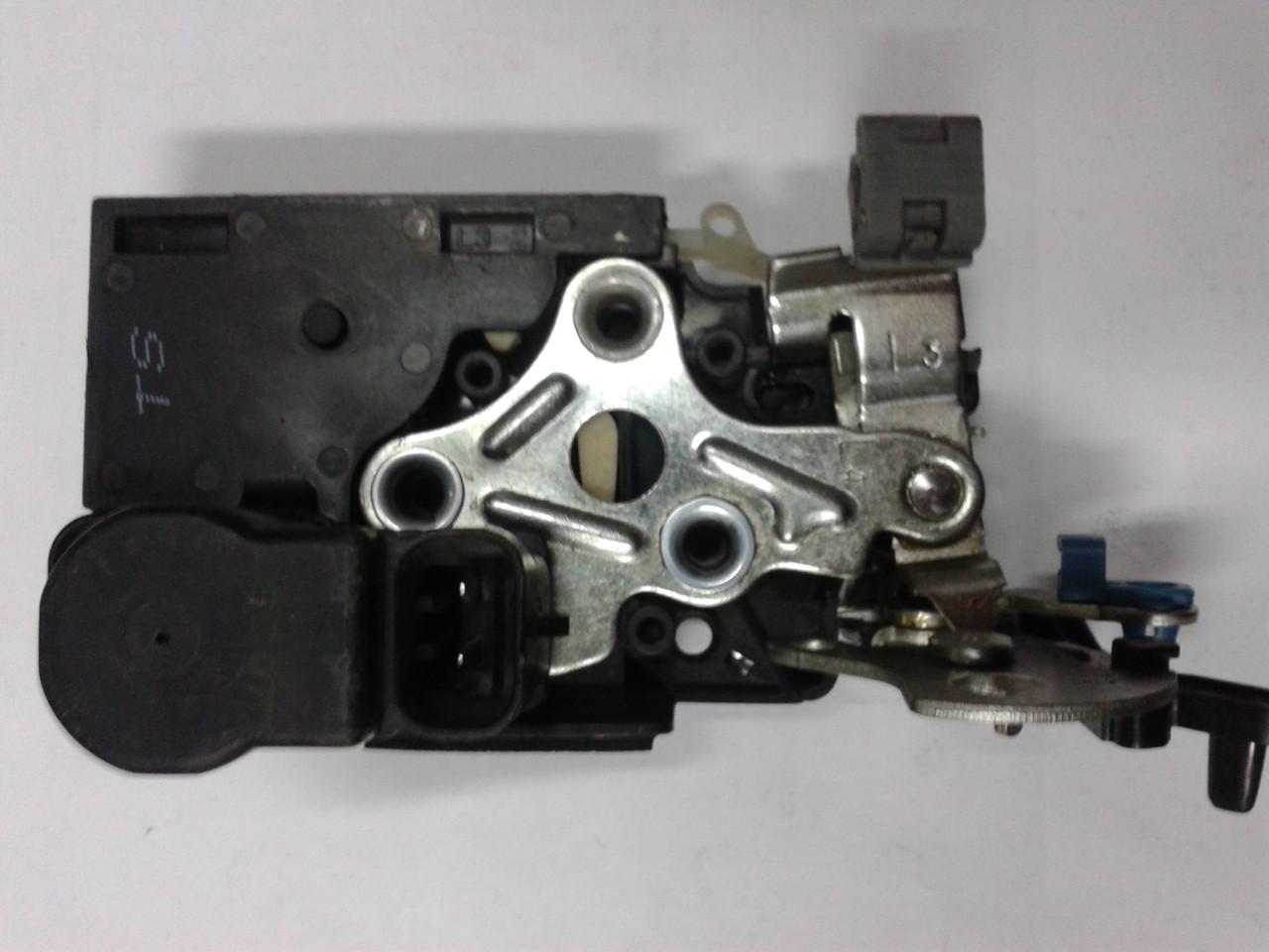 Механизм замка двери задний левый электрический Ланос, 96305419