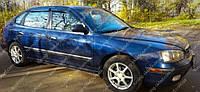 Ветровики окон Хендай Элантра 3 хэтчбек (дефлекторы боковых окон Hyundai Elantra 3)