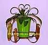 Бабочка, подставка для цветов на 1 чашу