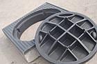 Люк канализационный квадратный тяжелый магистральный KASI тип ТМ (D400) KDС25 (Чехия), фото 3